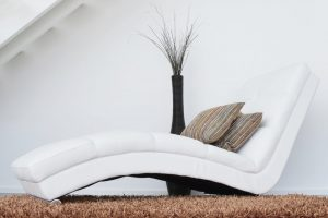 white sofa lounge