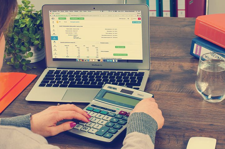 Female accountant working in an SMSF administration company