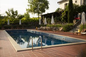 Outdoor pool made by pool builders in Byron Bay