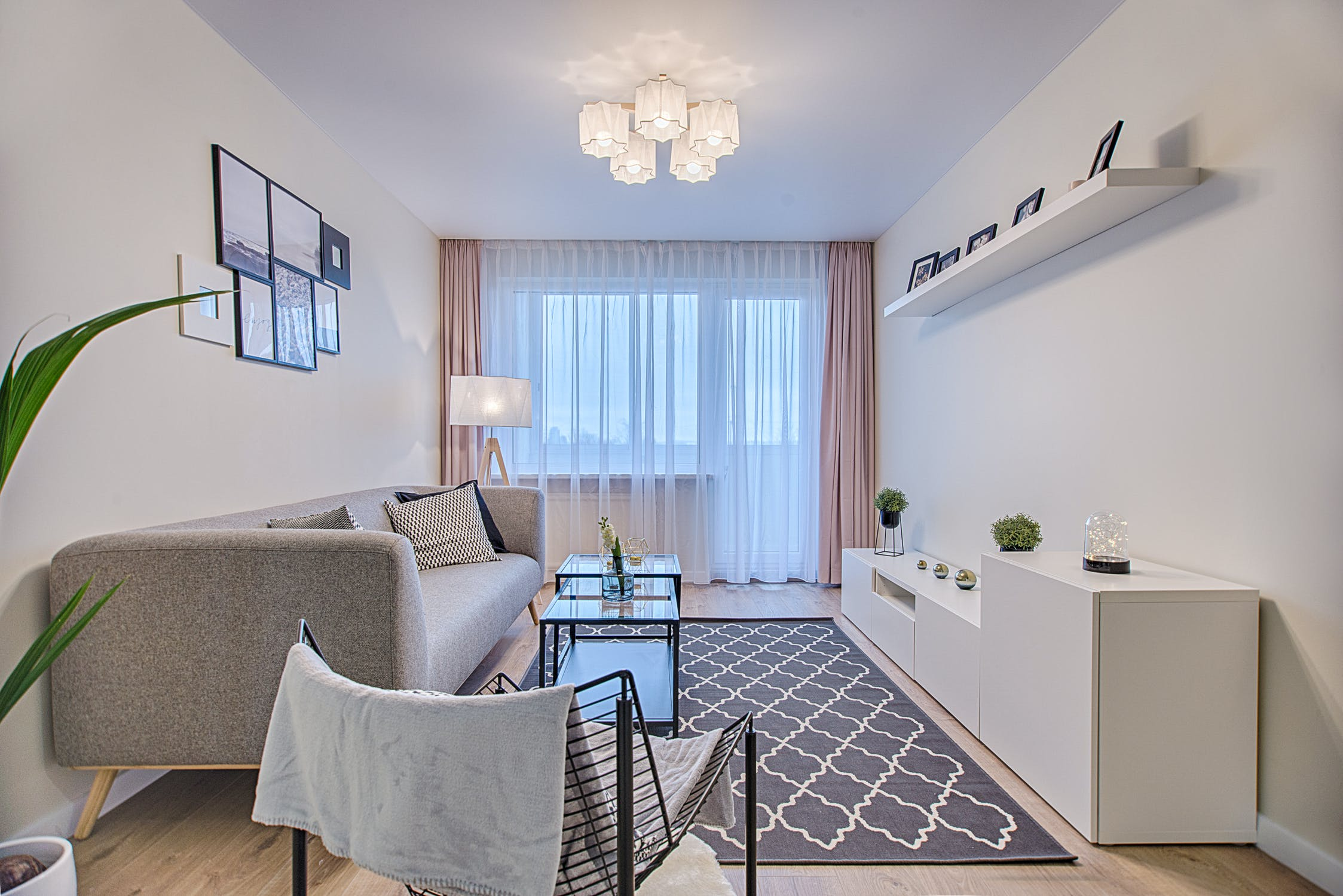 Living area with quality curtains in Adelaide